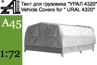 Canvas cover for ICM Ural-4320 \Тент для УРАЛ 4320 от ICM