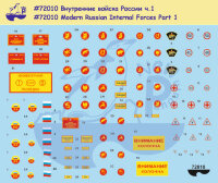 72010 Modern Russian Internal Forces (Part 1) Markings and insignias