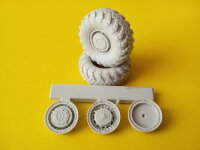 Колеса МАЗ-543/7310   MAZ -543/7310 Wheels  8pcs (Iscander,Bal,Bastion)